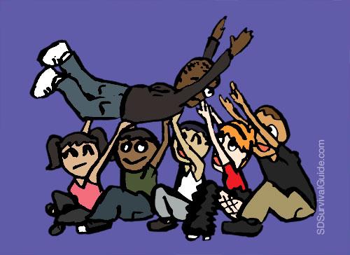 crowd-surfing-leapfrog