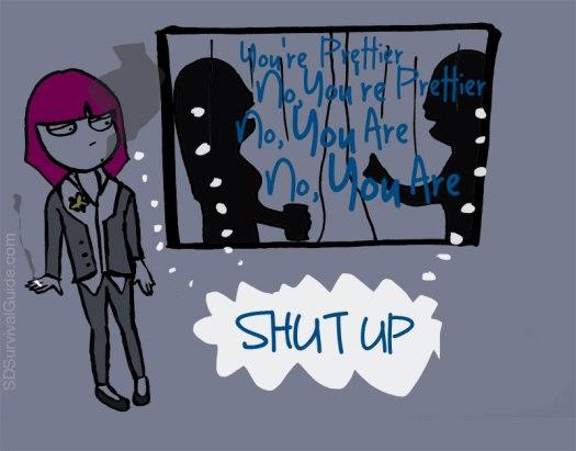shut-up-prettier
