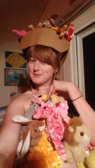 I'm confident enough to wear a bunch of beanie babies I hot glued together as a garment.