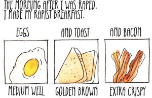 trigger warning: breakfast