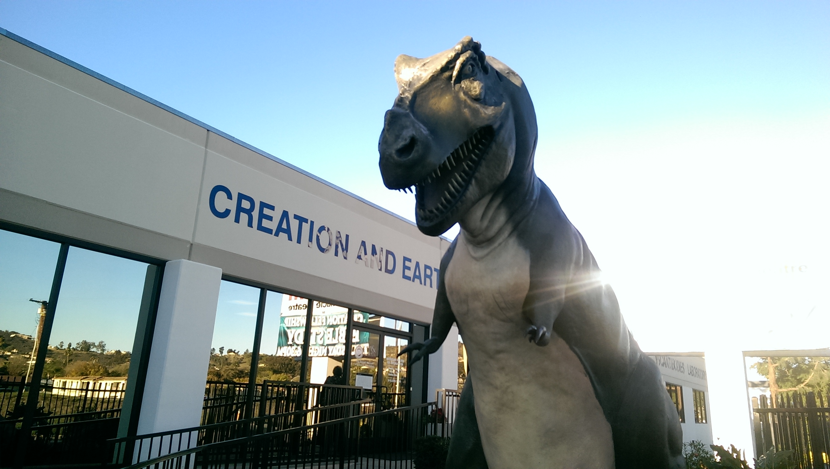 How to go to the creationism museum in santee san diego survival guide creationist museum santee san diego dinosaur solutioingenieria Images
